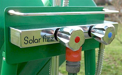 The Solar fizz hot water mixing battery