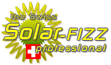 Swiss Made Solar fizz Garden Shower from Andy Byland